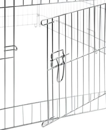 Kerbl Freilaufgehege, 144x112x60cm verzinkt, inkl. Sonnenschutz