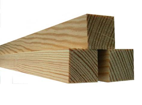 Hasenstall selber bauen - Holzleisten