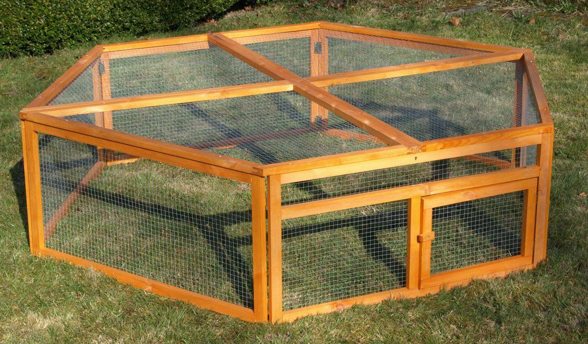kaninchen freilaufgehege biete deinen tieren auslauf. Black Bedroom Furniture Sets. Home Design Ideas