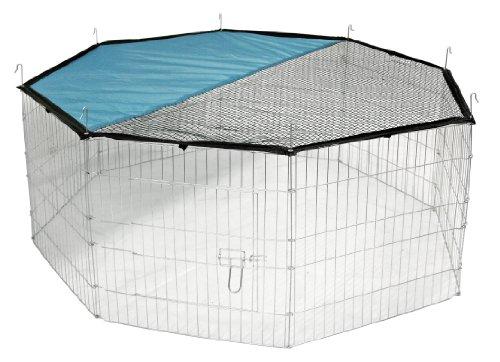 Kerbl Freigehege aus 8 Gittern -